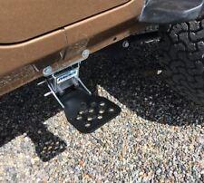 Jeep Wrangler JKU 2007-2017 Black REAR Hide A Step JKST07BR M.O.R.E.
