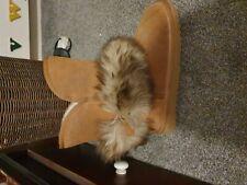 Faux Fur Boots Size 8