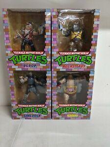 PCS Teenage Mutant Ninja Turtles Villains Complete Set of 4 Figures Statues TMNT