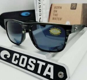 """COSTA DEL MAR matte reef/gray """"SPEARO"""" POLARIZED 580P sunglasses! NEW IN BOX!"""