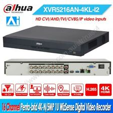 Dahua 16CH AI 8MP IP CVI AHD TVI CVBS 1U Digital Video Recorder XVR5216AN-4KL-I2