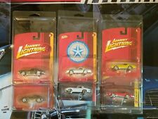Johnny Lightning Forever 64 lot of 7 corvettes in protector packs