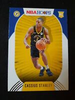 J84 2020-21 Cassius Stanley NBA Hoops Rookie RED BACK SP Indiana Pacers RC #215