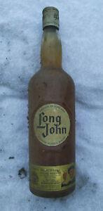 Kellerfund 1 Flasche Long John Blended Scotch Whisky Special Reserve ca 70er Jah