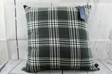 Hallmart Collectibles Black Collection 20 x 20 Square Decorative Pillow NEW USA