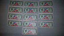 Mickey Mouse  $1 Disney Dollar 1997 ~25th ANNIVERSARY WDW PRISTINE d series