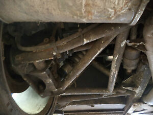 TVR TUSCAN 1 RED ROSE - REAR LEFT WISHBONE WITH BUSHES - NSR NS PASSENGER SIDE
