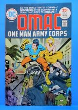 OMAC (One Man Army...Corps) #6 of 8 1974/1975 DC Comics JACK KIRBY-w,a,c,e