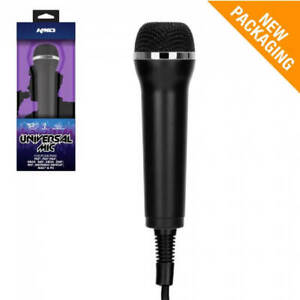 KMD Universal Microphone for Nintendo Switch, Wii, PS4, PS3, Xbox 360 and PC/MAC