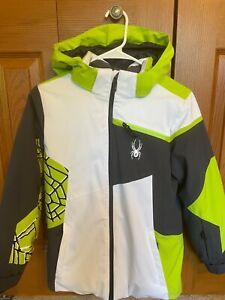 Spyder Ski Jacket Youth Boys Size 12