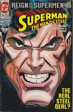 SUPERMAN SEPT 1993 #25 DC COMIC BOOK