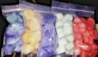 """/""""Chunky Hearts/""""  10 packs Super Scented! 200 Bulk Candle Wax Melts"""