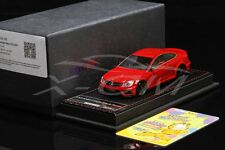 Resin Car Model FrontiArt Mercedes-Benz C63 AMG Coupe Black Series 1:43 (Red)