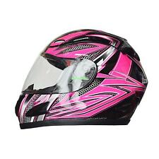 Full Face Flip Up Motorcycle Motorcross Street Bike Helmet Adult Size M/L/XL