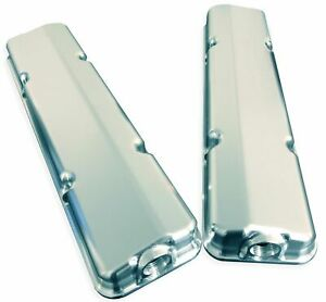 50mm (LOW LINE) SBC Valve Cover (Pair) - RHS Forward -12AN Breather