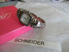 Premier Designs TANDY pink cabochon cuff watch gorgeous RV $68 FREE ship