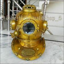 Rare X-Mas Vintage Dive Helmet Scuba Divers Antique Diving Helmet Nautical Decor
