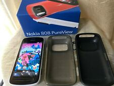 Nokia 808 PureView - 16GB - WHITE (Unlocked) Smartphone FULL BOX