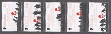 GIBRALTAR 2016 MILITARY WORLD WAR I BATTLE OF THE SOMME SET MNH