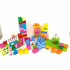 Lego Duplo Girl Chicken Figures House Incomplete Lot #6071228 90 Pieces Lot 2014
