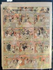 LITTLE NEMO SUNDAY Color Strip 11/30/1913 WINSOR McCAY Land Of Wonderful Dreams