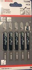 Genuine Bosch Jigsaw Blades, T119B.