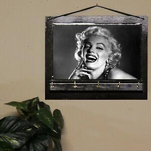 Marilyn Monroe Best Friends Gift, Key Rack Hanger, Jewellery Organizer