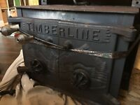 Timberline Woodstove Fireplace Insert Excellent Condition Ebay