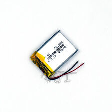 Rechargeable Polymer Li-ion battery PCM li-po 400 mAh 3.7V  502535 for  MP4 MP5