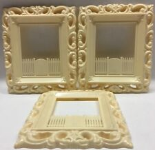 Vtg 1940's-1950's Plastic Masters, Picture Frames???, Picket Fence & Gate, Retro