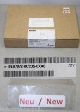 Siemens TS Adattatore 6es7972-0cc35-0xa0 6es7 972-0cc35-0xa0 NUOVO