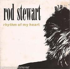 """Rod Stewart-ritmo de mi corazón (UK 2 Tk 1991 7"""" SINGLE PS)"""