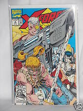 1992 Marvel Comic X-Force Underground and Over The Top