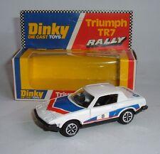 Dinky Toys No. 207, Triumph TR7 Rally, - Superb