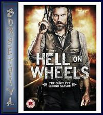 HELL ON WHEELS - COMPLETE SEASON 2 **BRAND NEW DVD **