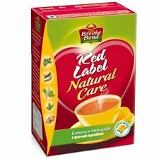 Brook Bond Red Label 250g Natural Care Tea from India With 5 Ayurvedic Herbs !!
