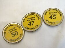 National Cash Register Co. Worker's Pin/Badge Process Control 45 47 50 Employee