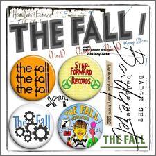 THE FALL ⑦ Mark E Smith Post Punk John Peel Beggars Manchester Badge Set x4