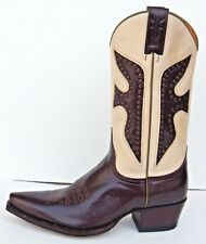 FRYE DAISY DUKE STUDDED WESTERN BOOTS sz 8.5 NEW 100%AUTHENTIC