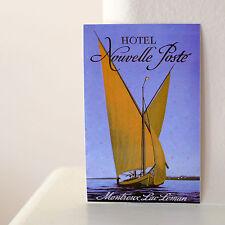 "#2958 Montreux Lac Leman Switzerland Swiss Vintage Travel 3x2"" DECAL STICKER"