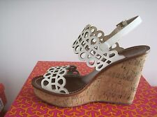 BRAND NEW TORY BURCH NORI 115MM WEDGE SANDAL SIZE 8