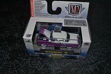 M2 Machines Castline Auto Thentics 1955 Dodge Royal Lancer Purple And White