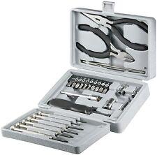 25teiliges Werkzeug Klappbox Universal Feinmechaniker Set Fixpoint 77093