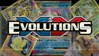 Pokemon Evolutions  XY Set - Single Cards ALL Rare/Uncommon/Common - Near Mint