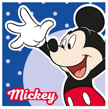 Official Mickey Mouse Face Towel / Cloth 30 x 30cm - Disney