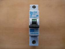 NHP  DTCB6106C MCB Circuit Breaker DIN-T6 6KA 1 POLE 6A C CURVE