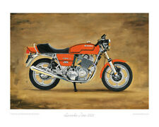 Motorcycle Limited Edition Print - Laverda Jota 1000 - Classic Bike Poster Art