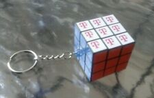 T-MOBILE RUBIK'S CUBE KEYCHAIN/PUZZLE/BRAIN TEASER/TWISTING GAME