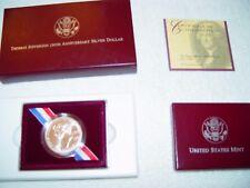 Thomas Jefferson 250th Anniversary Silver Dollar uncirculated