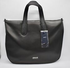 Armani Jeans Women Shopping / Tote  Bag 922244-7A789 In Black RRP £150